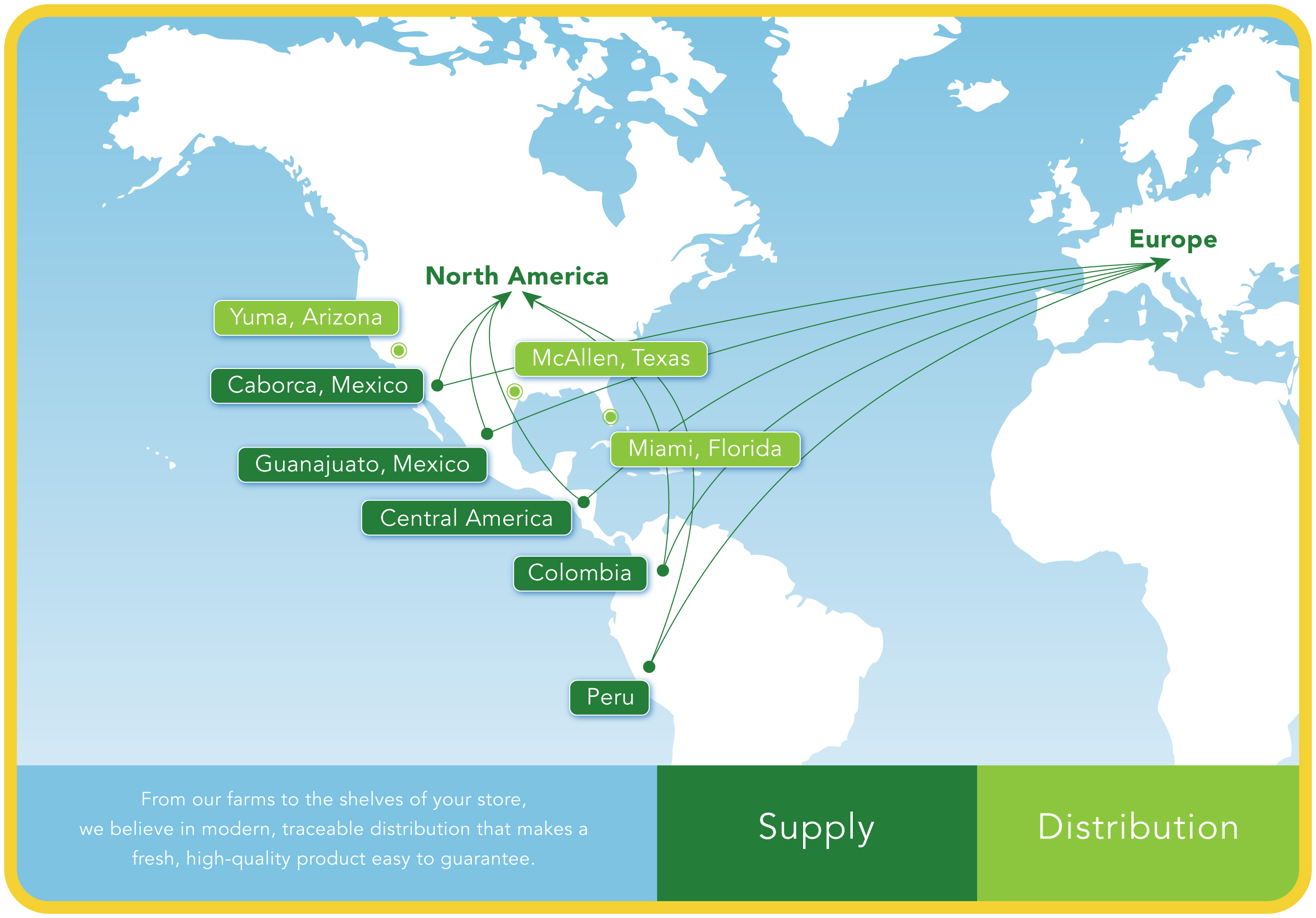 Map Supply & Distribution